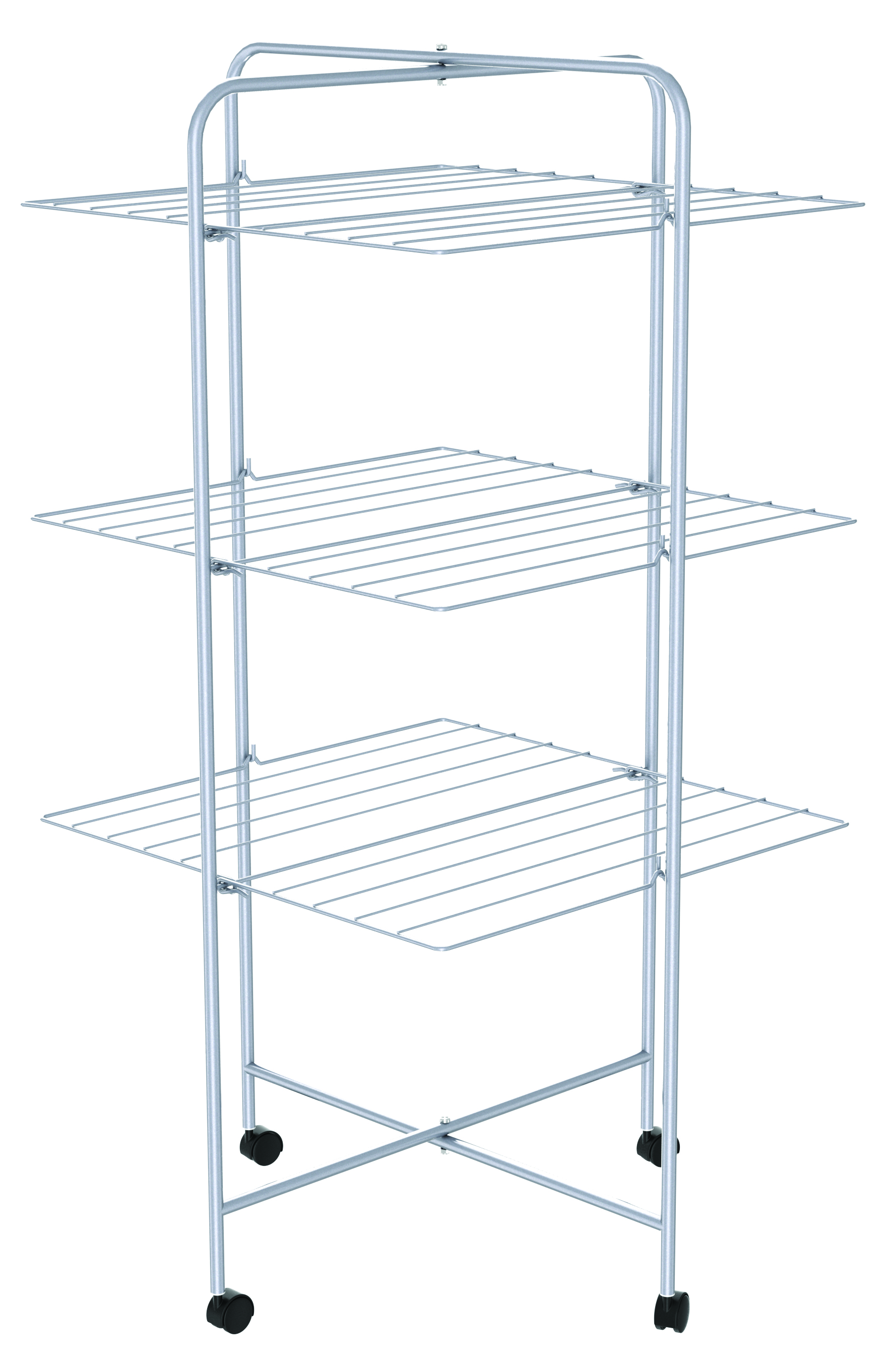 in p folding rack x drying racks deluxe chrome whitmor collection