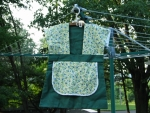 Clothespin Bag - Green