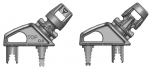 Line Tensioners - 1 Set (1-right clip/1-left clip) for Rotary 400/500