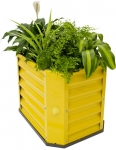 Hills Self Watering Garden Bed 120 - Yellow