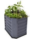 Hills Self Watering Garden Bed 120 - Grey