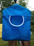 Blue Peg Bag