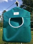 Teal Peg Bag